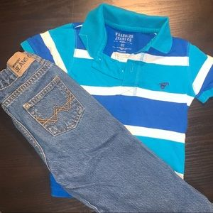 Wrangler jeans outfit 2t